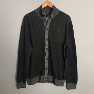 NWT Men's Banana Republic Grey Cardigan